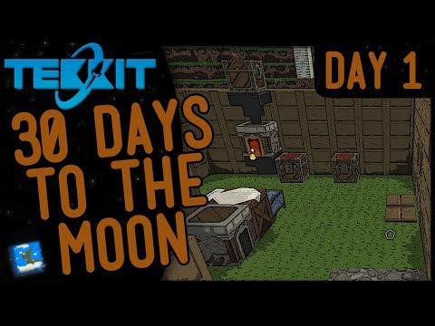 Tekkit: 30 Days To The Moon - Day 1 - Pilot