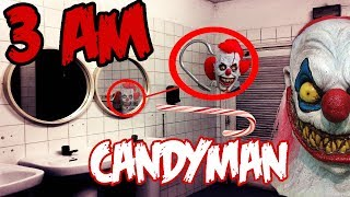 (HOOK SCRAPES!) 3 AM OVERNIGHT CANDYMAN CHALLENGE (GONE WRONG) SCARY HOOK SCRATCHES HEARD (PROOF)