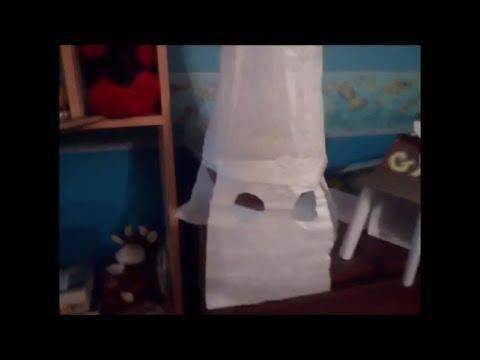 #3 KKK member mask made 100% out of tissue paper