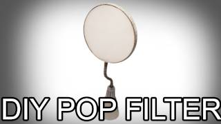 DIY Project: How to Make a Pop Filter for a Microphone