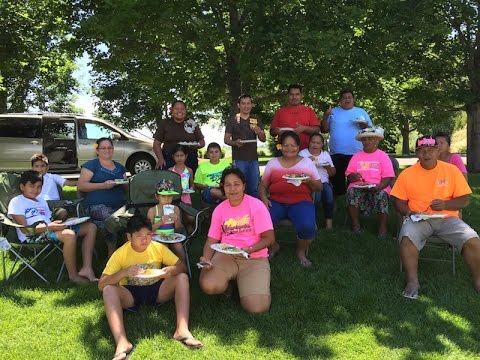 17 Tahitians travel over 4800 miles to see Melaleuca fireworks in Idaho Falls