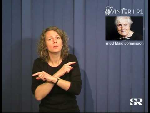 SR P1: Vinter med Elsie Johansson, del 2 av 7