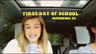 first day of school GRWM vlog (sophomore year)