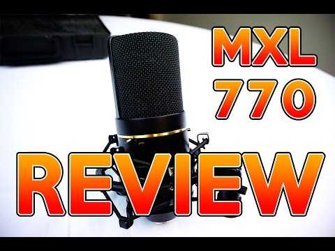 MXL 770 Microphone Review - Best Studio Mic For Under 100