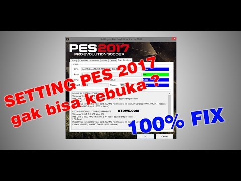 Di video kali ini, saya akan memberikan tutorial tentang bagaimana cara mengatasi setting.exe PES 20.