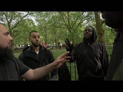 Addressing a issue 7th May 2017 Speakers Corner