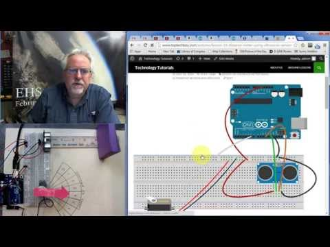 Lesson 18: Measure Distance with Arduino and Ultrasonic Sensor