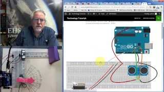 Lesson 18: Measure Distance with Arduino and Ultrasonic Sensor thumbnail