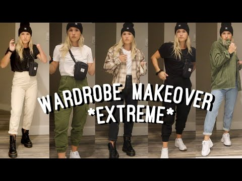buying a whole new wardrobe to match my dr. martens *extreme back to school haul*