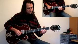 "Bobby Helms, ""Jingle Bell Rock"" - Jazz Guitar Cover"