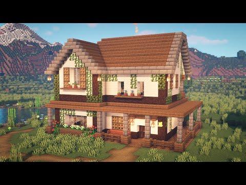 Minecraft | How to Build a Farmhouse - Zaypixel