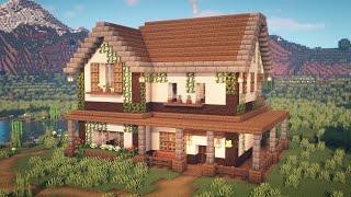 Minecraft   How t๐ Build a Farmhouse