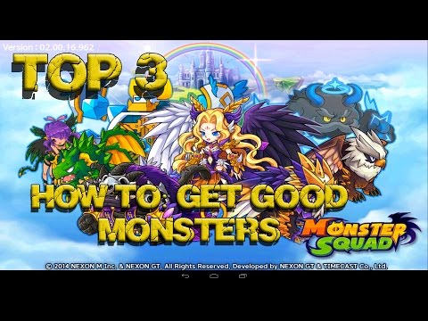 Monster squad top 3 ways to get legendary monsters