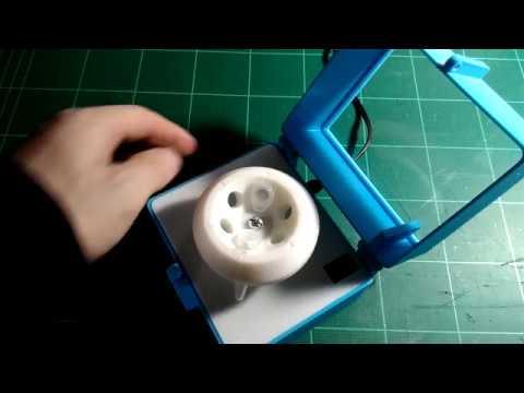 3D Printed DIYbio Centrifuge V 2.0