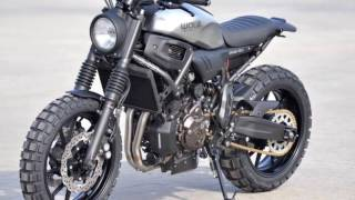 Yamaha XSR700 Based New WALZ Atacama700 Scrambler, NakedBikesWorld