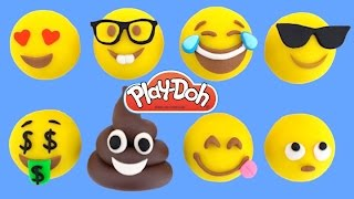 How to Make Emoji Faces with Play-Doh * Creative Fun For Kids * Play Dough Art * RainbowLearning