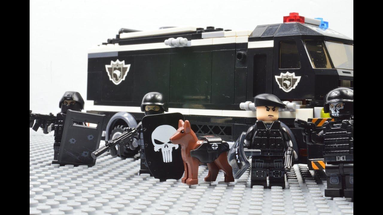 Lego Swat Lego Swat Street Toughs Barricade Youtube