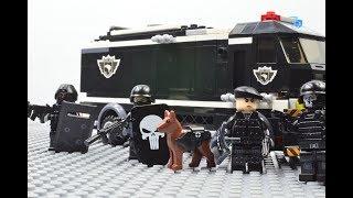 LEGO SWAT lego s.w.a.t - street toughs (Barricade)