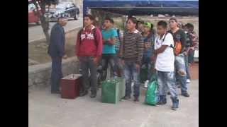 Ciento cincuenta jóvenes imbabureños se acogieron al servicio militar. (Noticias Ecuador)