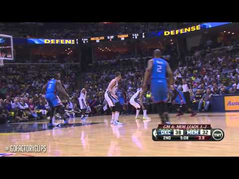 Kevin Durant & Russell Westbrook Full Combined Highlights at Grizzlies - 2014 Playoffs West R1G6