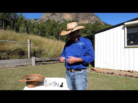 Easy, Cheap and Effective Home Remedy for Hardening Palm Leaf Hats by Cannard Hats