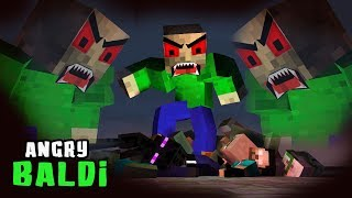Monster School: ANGRY BALDI!! - Scary Funny Minecraft Animation