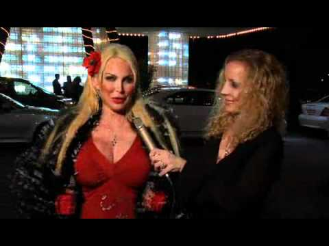 Red Carpet Interview with Shelley Michelle at Hollywood Park Casino Grand Re-Opening Nov. 11, 2011