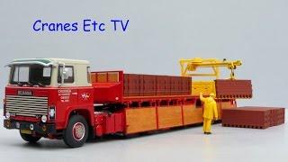 WSI Scania 140 Brick Trailer