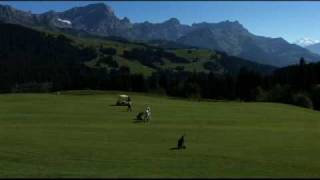 The Most Amazing Golf Courses of the World: Villars Alpine Golf Club, Switzerland