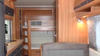 Caravan te koop: HOBBY DE LUXE 490 KMF STAPELBED / VASTBED (VERKOCHT)