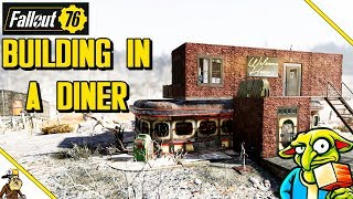 Fallout 76 Building - Overpowered Diner Base (Fallout 76 Base Building Guide)