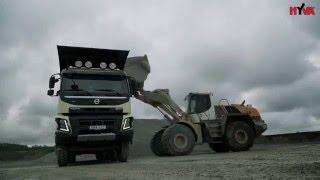 10x6 VOLVO FMX testy w kopalni