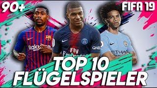 FIFA 19: TOP 10 FLÜGELSPIELER TALENTE !! 🔥 | Karrieremodus 90+