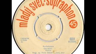 Pavel Bobek & Olympic - Oh Boy! [1964 Vinyl Records 45rpm]