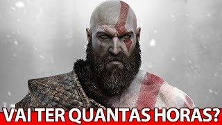 Novo God of War vai ter quantas HORAS? O EVENTO do PLAYSTATION foi um FIASCO?