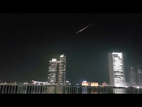 Burning Object In Sky Lights Up Satellite Debate