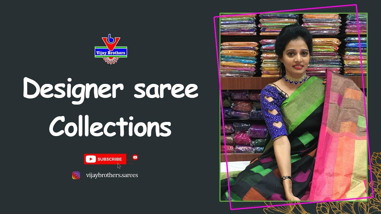 Designer saree Collections | Vijay brothers saree showroom |70933 70882, 84640 27097.