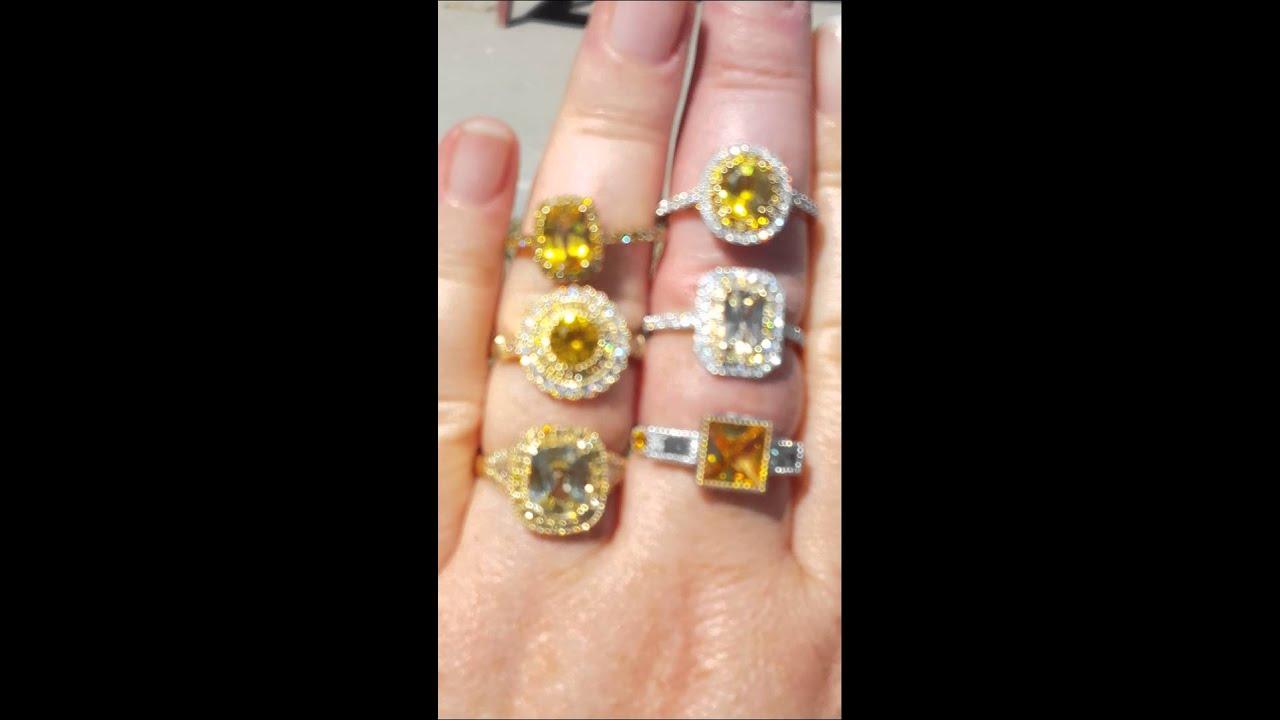 yellow sapphire rings youtube