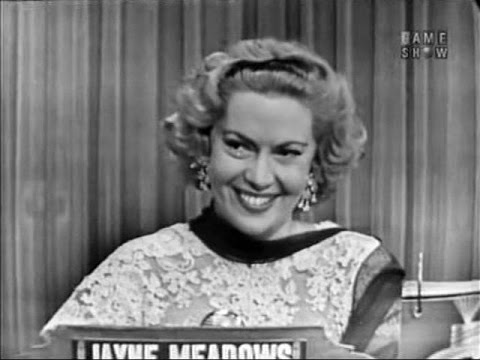 What's My Line?  Jayne Meadows Aug 1, 1954