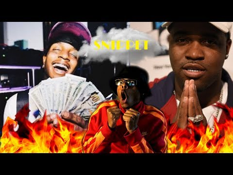 NEW HEAT ALERT! | Ski Mask The Slump God & ASAP Ferg SONG SNIPPET | Reaction