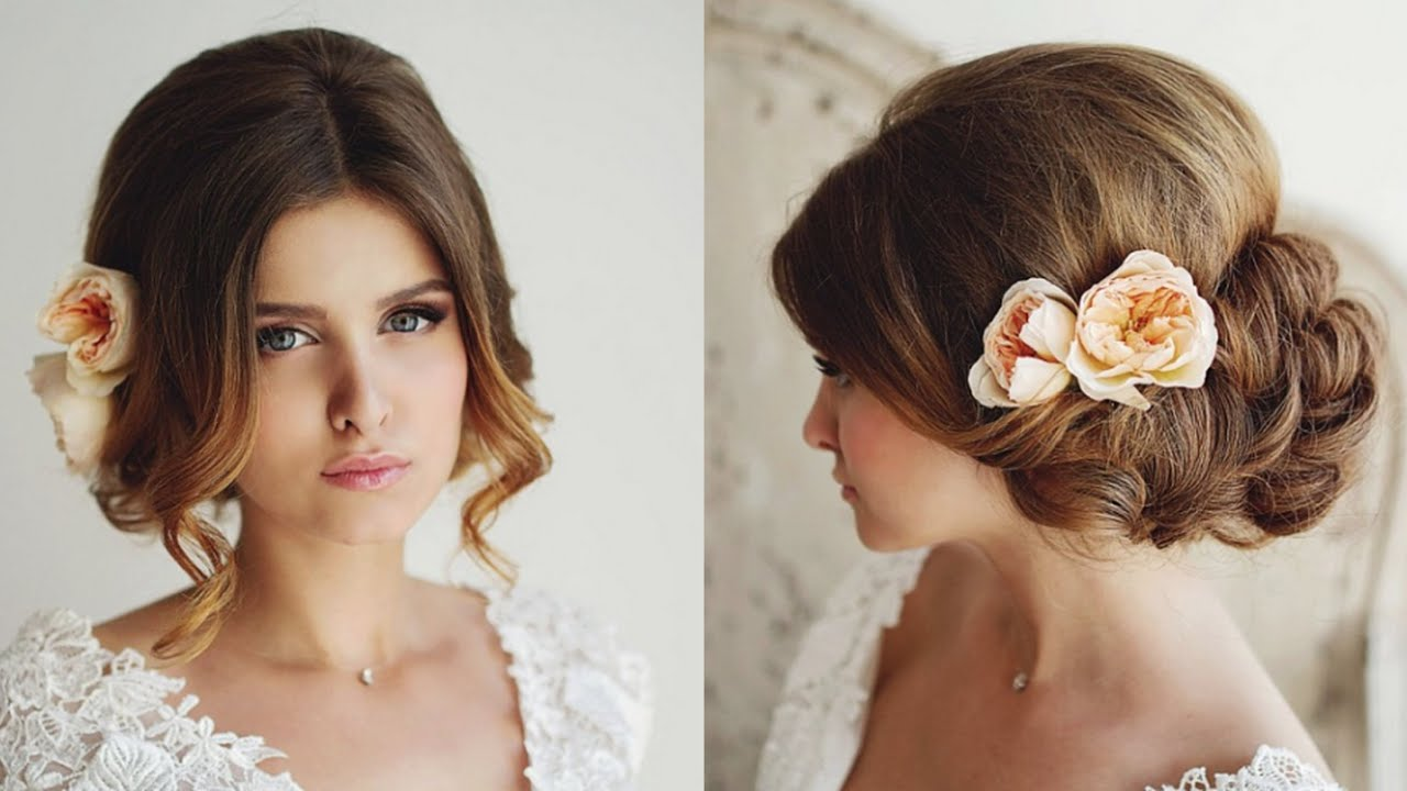 26 beautiful wedding hairstyles for bridal - youtube