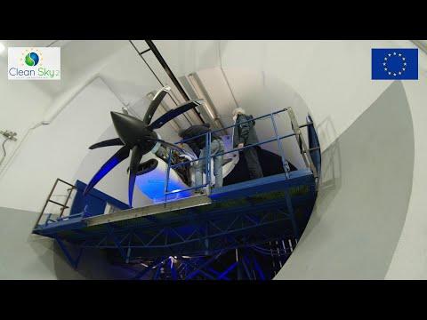 Tech TP, le démonstrateur de turbopropulseur de Clean Sky 2