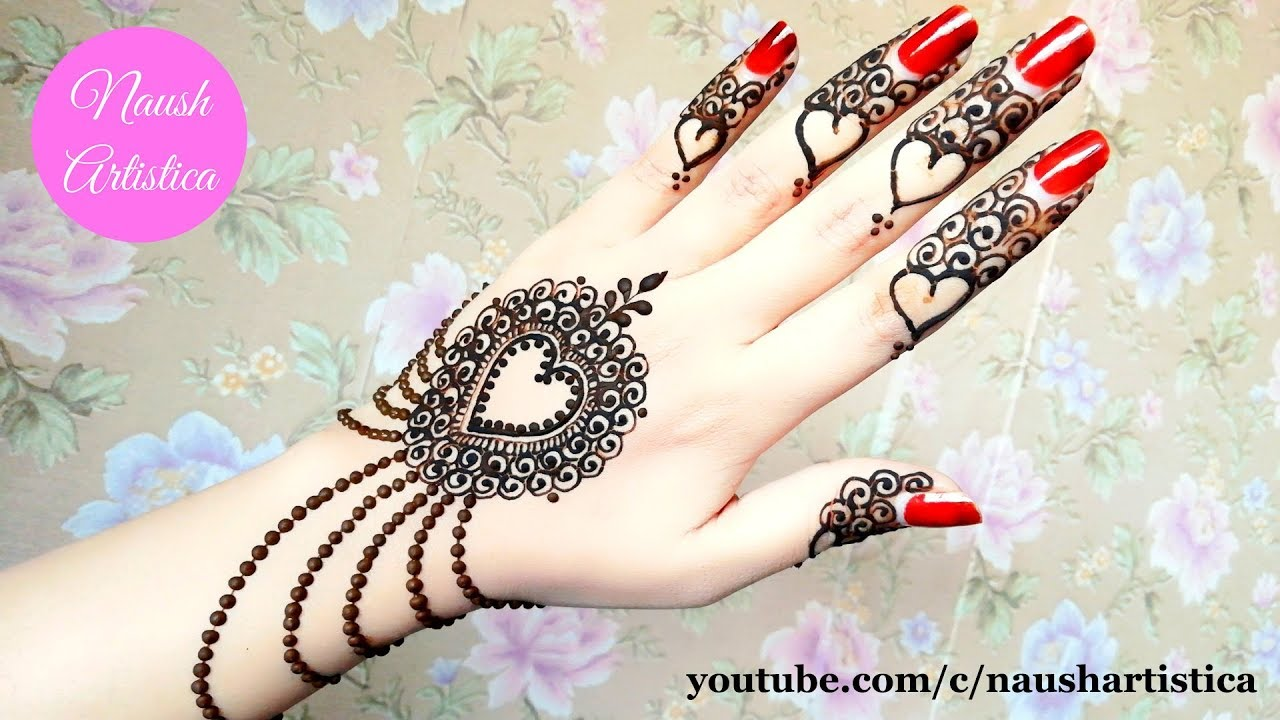 eid unique eid simple mehndi design