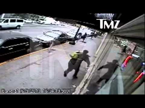 2 Chainz Robbery Attempt On Camera - Real Surveillance Footage