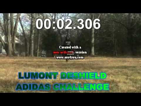 Lumont Deshield Adidas 40 Yard Challenge 4.24