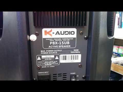 Konzert Powered Speaker PBX15u - Berklyn Electronic Manila