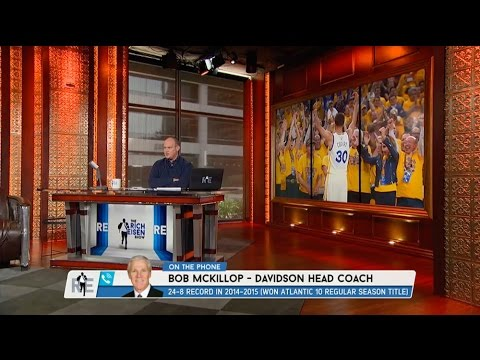 Davidson Basketball Head Coach Bob McKillop Talks Stephen Curry on The Re Show - 6/1/15