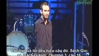 Nick Vujicic chia sẻ niềm tin, sự Bình an thật từ Thiên Chúa
