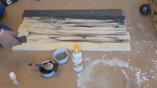 طريقة دهان الخشب .. مائي   wood paint