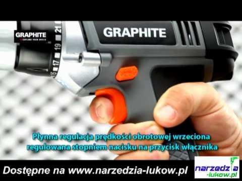 Wiertarko-wkrętarka GRAPHITE.mpg
